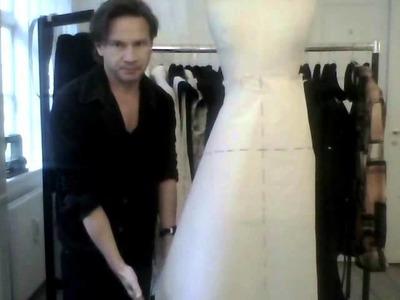 8. How to drape skirts - by bespoke tailor Sten Martin