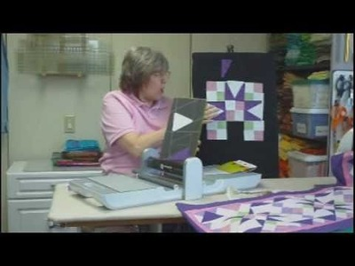 """Accuquilt Go Cutter 3"""" Finished Triangle In A Square Tutorial"""
