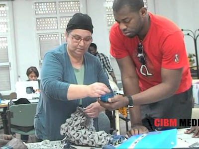 AIEDEE´S REPORTS:  Sewing School for the Nigerians in Malaga