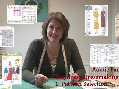 Beginners Dressmaking Part 1: How to Choose a Pattern