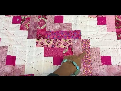 Big Stitch Quilting Without a Hoop - Tutorial