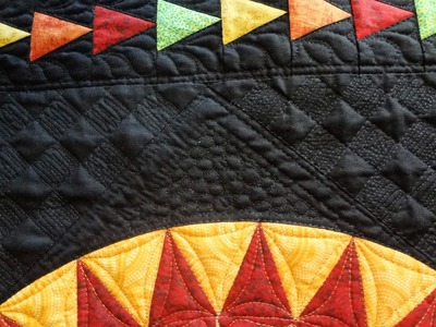 Block of the Month - Quilting the Center