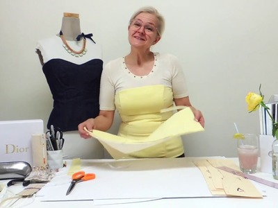 Bustier, sewing add on.