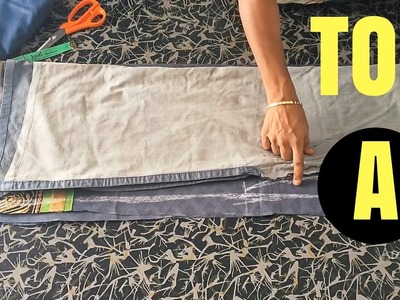 Chudidar Top Cutting in Tamil Part-A | சுடிதார் கட்டிங்