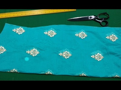 Churidar top cutting and stitching in malayalam , how to stitch lining churidar malayalam part 1