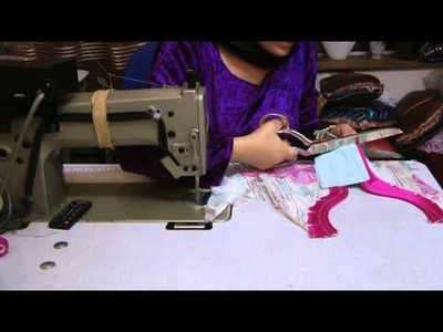 Cutting and sewing of flapper suit