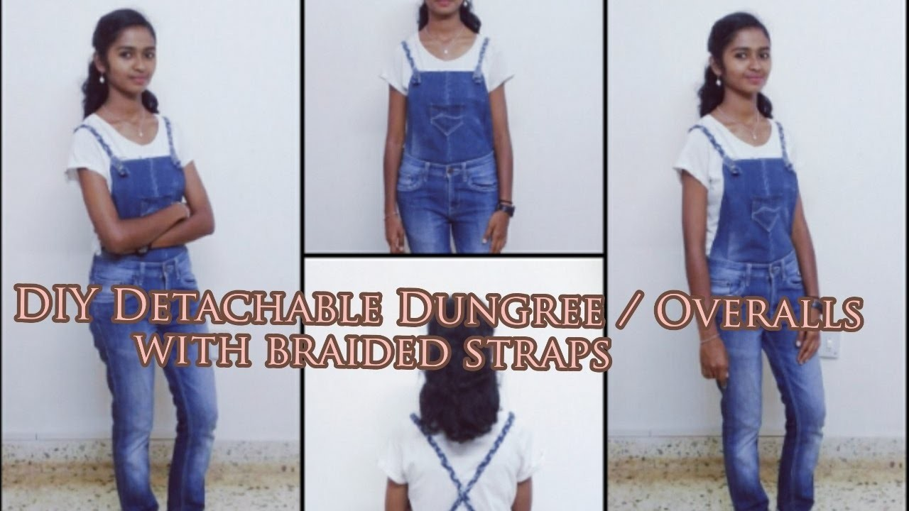 how to wear overalls without straps