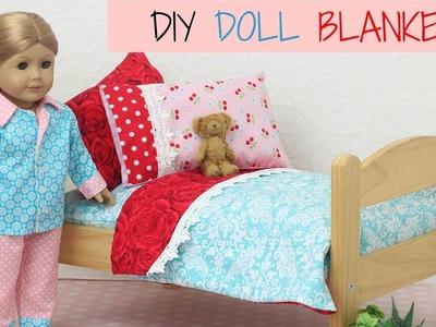 Doll Blanket Pattern for 18 inch Dolls - Easy for Beginners