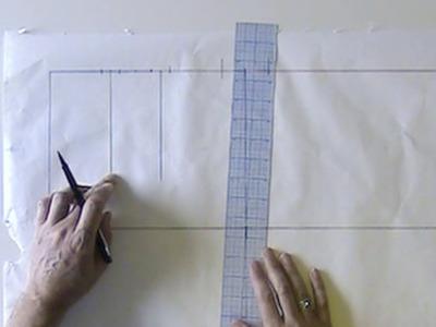 Drafting Skirt Sloper - Professional Method, Part 2