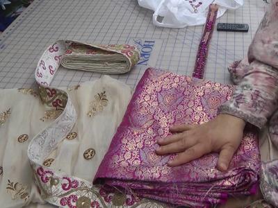 Fabrics to make angarkha frock