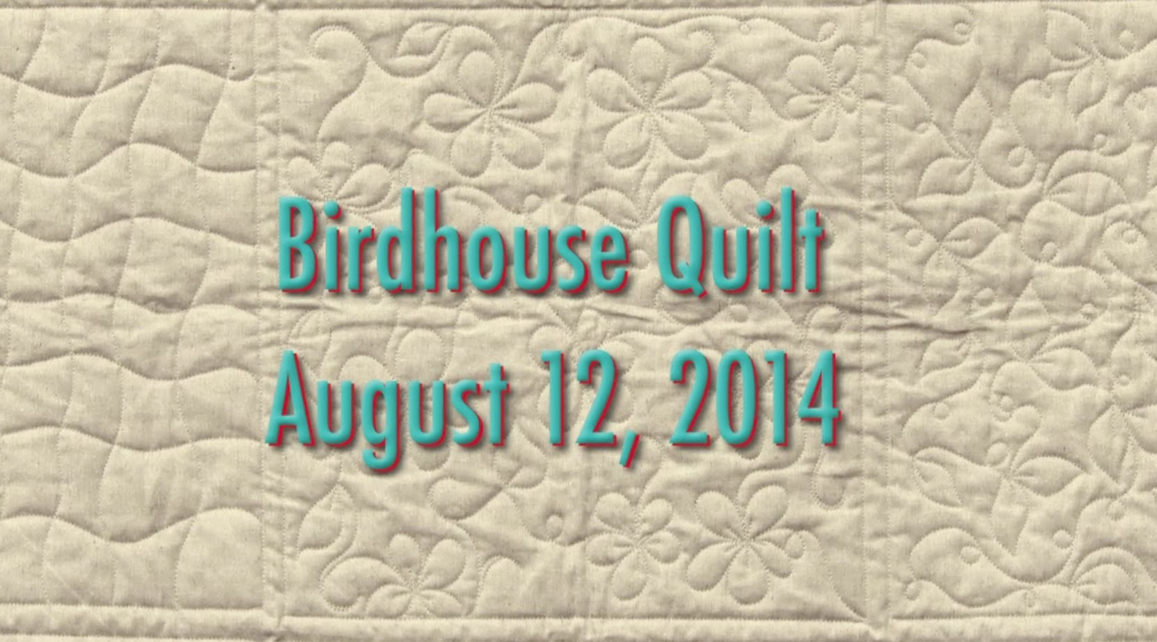 Growing Up with Quilt in a Day pt.1 (August Block Party)