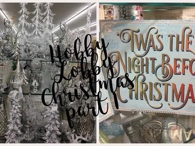 Hobby Lobby Christmas Decor 2017 ~Part 1