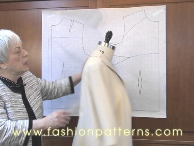 How to design with Connie Crawford's master patterns CS1201.