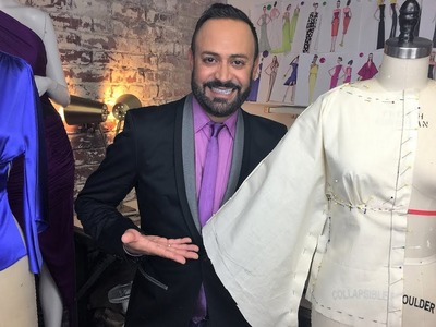 How To Drape a Batwing Top