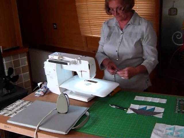 """How to make a Sail Boat Block with 2 1.2"""" strips & squares - Quilting Tips & Techniques 162"""