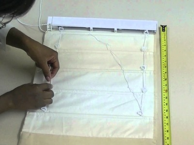 How to make Pleated Roman Blind Part 2