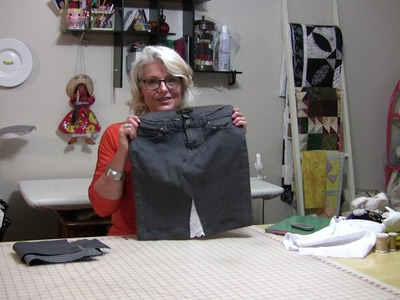 How To Make Your Skinny Pants To A Skinny Skirt