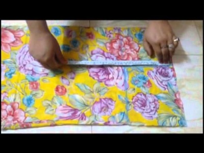 How to measure and cut simple kurti