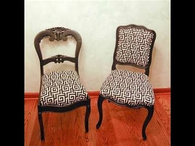 How to Reupholster a Chair EASY