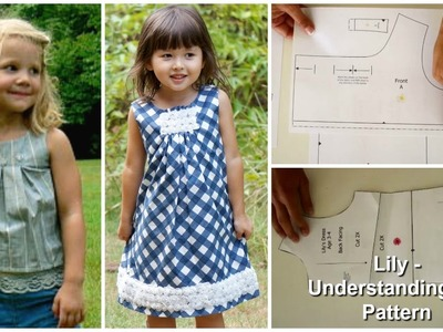 How to sew a Dress - Lily - The Pattern explained