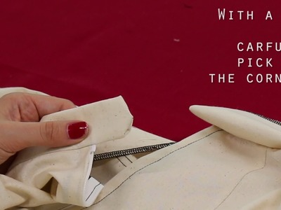 How to sew a straight waistband