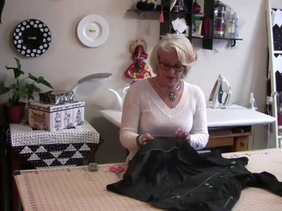 How to sew and replace a snap on your clothing