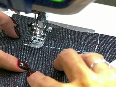 How to Sew Jean Pockets Part 2 with Angela Wolf