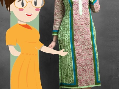 How To Stitch Pleats On Suits (Kurti) - Tailoring With Usha