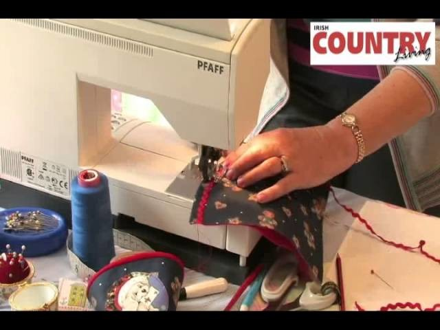 I Love to Sew: Episode 8 - Fabric Sweet Cones