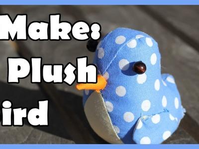I Make: a Plush Bird