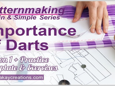 Importance of Darts in Patternmaking, Lesson 1