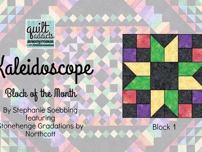 Kaleidoscope Block of the Month  - Block 1