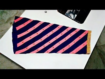 Latest Sleeves design and Best baju's design cutting and stitching