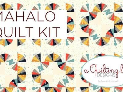 Mahalo Quilt Kit by Sherri McConnell for Moda Fabrics
