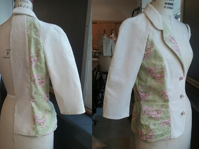 Making a Raglan Sleeve Jacket with Notch Collar