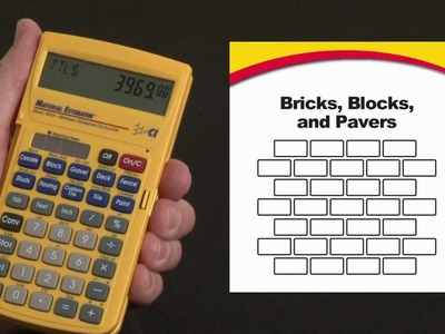 Material Estimator Bricks, Blocks and Pavers How To