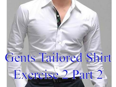 Mens shirts - Exercise 2 part 2 - Attaching the yoke