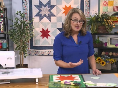 My First Quilt - Episode 14 Preview - Simple Quilt Blocks: Sawtooth Ohio Star