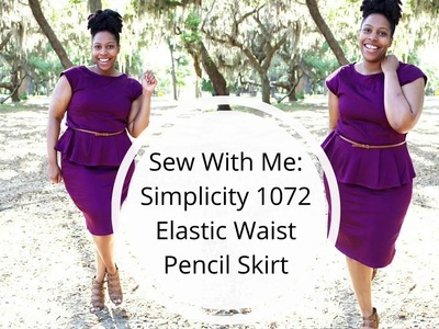 Sew With Me : Simplicity 1072 Pencil Skirt