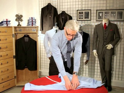 T.M.Lewin   How to Measure Yourself for the Perfect Shirt Fit