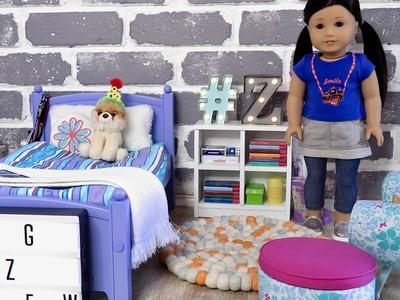American Girl Doll Z Bedroom