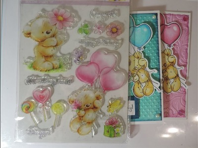 Card Making  2 Birthday Cards