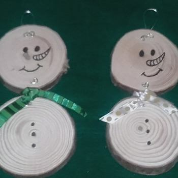 Christmas Snowman Tree Decorations