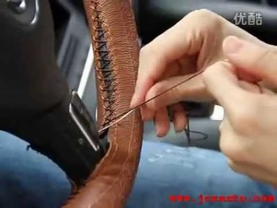 Circle Cool Steering Wheel Wrap Cover Installation Instruction Video