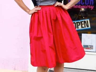Clothing-Making Class: Learn To Sew a Perfect-Fit Skirt!
