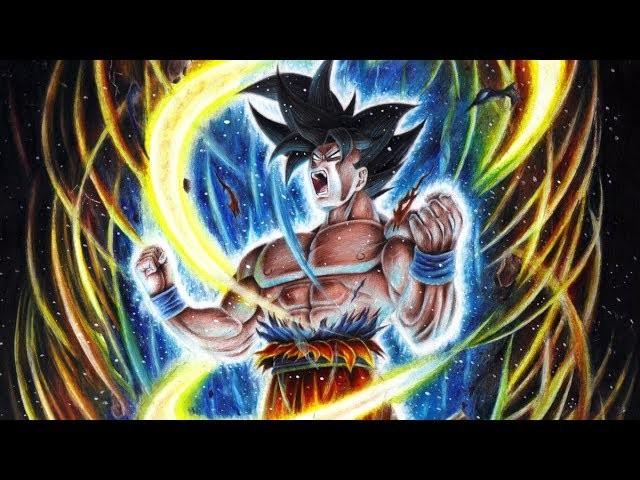 Dibujos Para Colorear De Goku Ultra Instinto: Cómo Dibujar A Goku Ultra Instinct. Migatte No Gokui