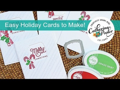 Easy Holiday Cards to Make - Two Ways- KISS Cards