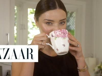 Everything Miranda Kerr Eats In A Day   Harper's BAZAAR