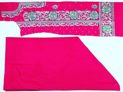 Full Heavy Patiala Salwar Suit cutting easy way with Usefull Tips|| पूरे सूट की कटिंग कैसे करें?