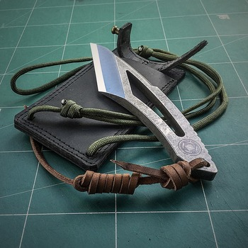 "Handmade kiridashi for left hand ""Event Horizon"""